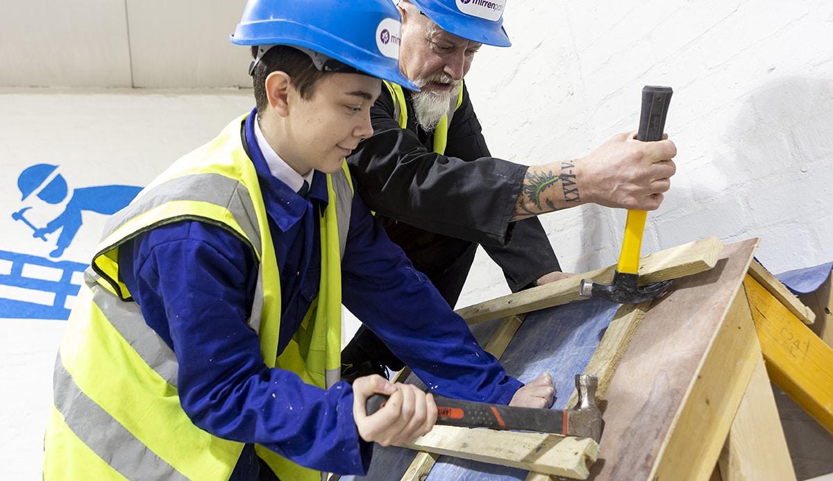 Teaching basic practical building skills